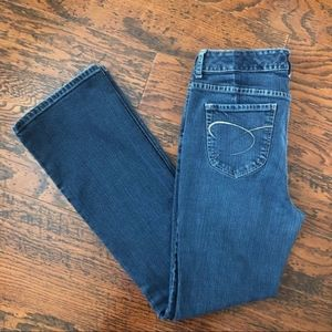 Chico's Platinum Bootcut Jeans - Medium Blue Wash